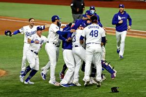 LA Dodgers end their 32-year World Series drought