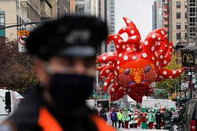 Macy's Thanksgiving Day Parade amid COVID-19