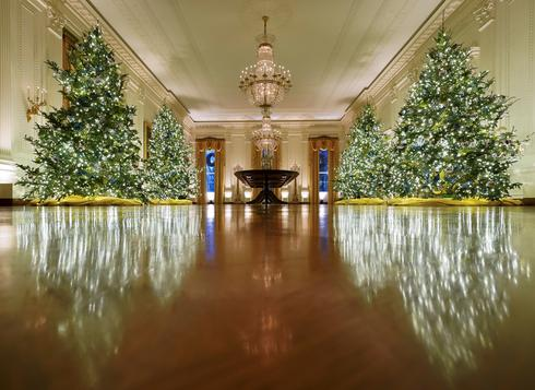 Deck the White House halls