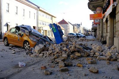 Strong earthquake shakes Croatia