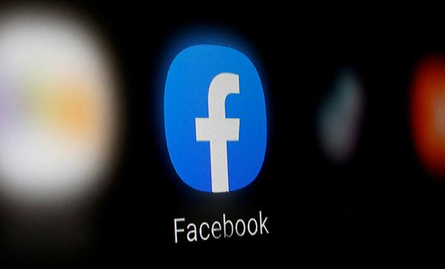 FILE PHOTO: A Facebook logo is displayed on a smartphone in this illustration taken January 6, 2020. REUTERS/Dado Ruvic/Illustration/File Photo