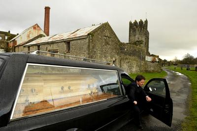 Pandemic upends life for Irish pub owner-turned-undertaker
