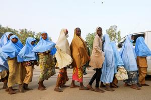 Abducted Nigerian schoolgirls freed by kidnappers