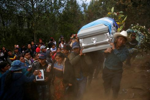 Guatemalan migrants laid to rest after massacre in Mexico