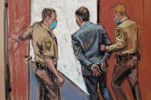 Sketches from the trial of Derek Chauvin