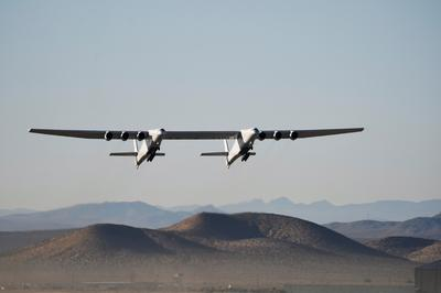 World's largest airplane takes flight