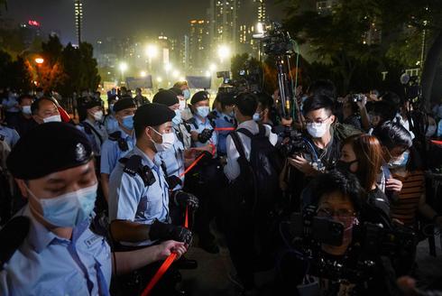 Hong Kong protesters try to mark Tiananmen anniversary as China cracks down