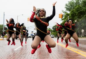Americans mark Juneteenth with marches, music and reflection