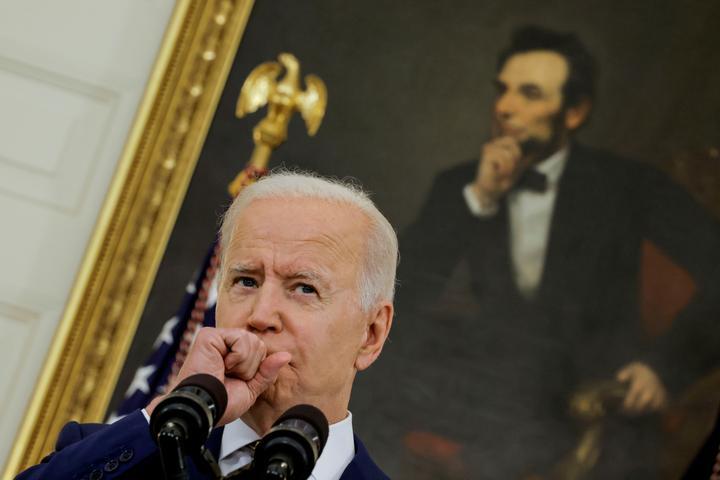 U.S. President Biden delivers update on administration's coronavirus...