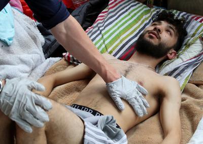 Undocumented migrants seeking status go on hunger strike in Belgium