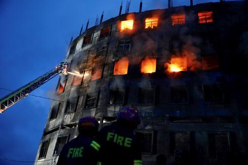 Massive fire at Bangladesh juice factory