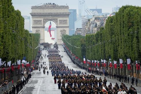 France celebrates Bastille Day with military parade