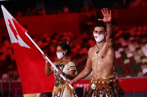 Opening ceremony outfits at the Tokyo Olympics