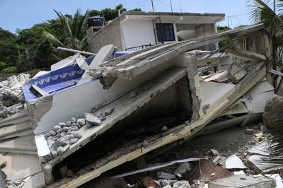 Earthquake rocks southwest Mexico