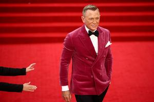 World premiere of the new James Bond film 'No Time To Die'